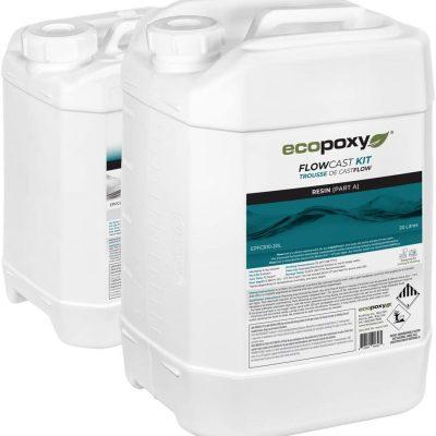 ecopoxy - אקופוקסי 30 ליטר - אפוקסי שקוף ליציקה איכותי